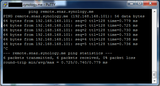 synology-hosts-ping